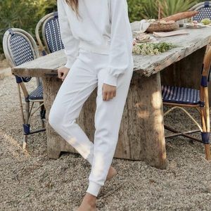 Christy Dawn White The Sonny Jogger Pant